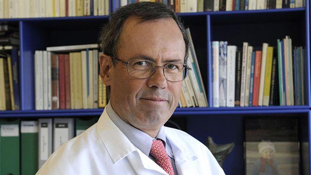 Pierre-André Michaud, médecin spécialiste de la santé des adolescents. [Philippe Maeder - unil.ch]