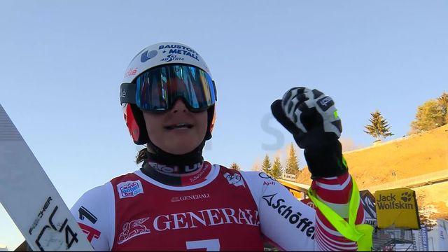 Val Gardena (ITA), descente dames: Ramona Siebenhofer (AUT) termine à la 3e place [RTS]