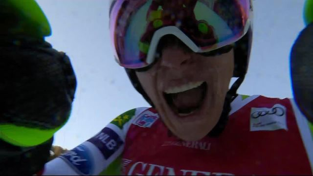 Val Gardena (ITA), descente dames: Ilka Stuhec (SLO) remporte cette descente en 1:22.81 [RTS]