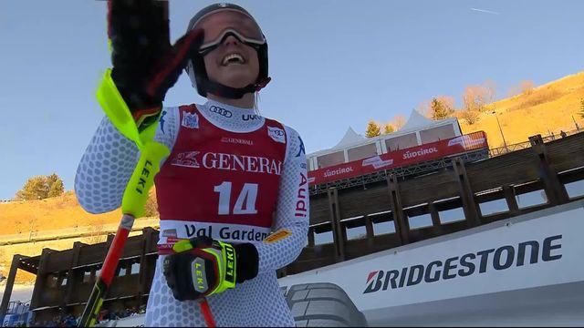 Val Gardena (ITA), descente dames: Nicol Delago (ITA) - 2e [RTS]