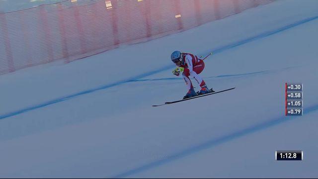 Val Gardena (ITA), descente dames: Jasmine Flury (SUI) signe une belle 4e place [RTS]