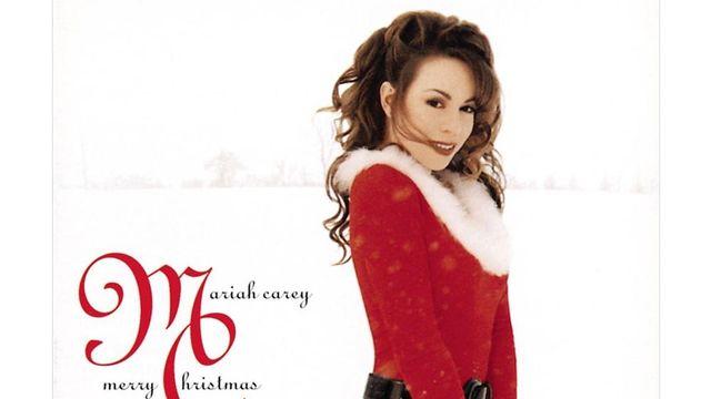 Couverture de l'album de Mariah Carey Merry Christmas.