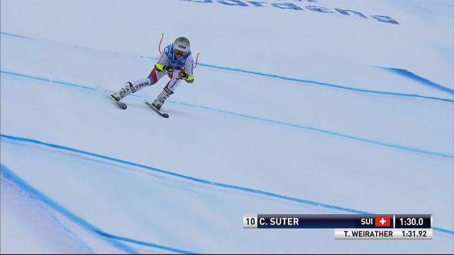 Val Gardena (ITA), Super G Dames: Corinne Suter (SUI) [RTS]