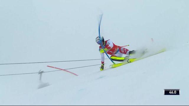 Saalbach (AUT), Slalom Messieurs, 1ère manche : Daniel Yule (SUI) [RTS]