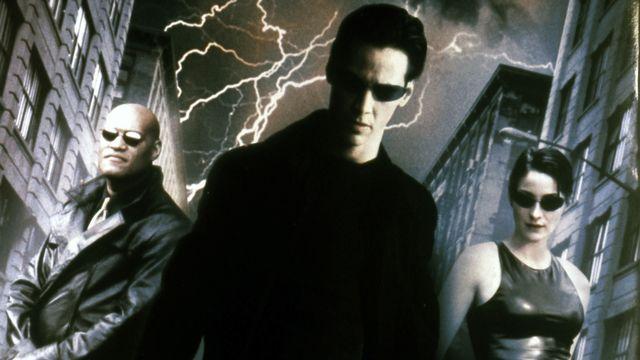 """Les trois héros principaux de """"Matrix"""". [Collection ChristopheL/AFP]"""