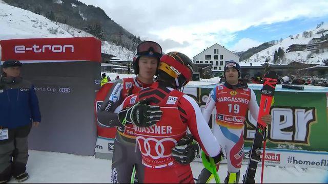 Saalbach (AUT), Slalom Messieurs, 2ème manche : Marcel Hirscher (AUT) [RTS]