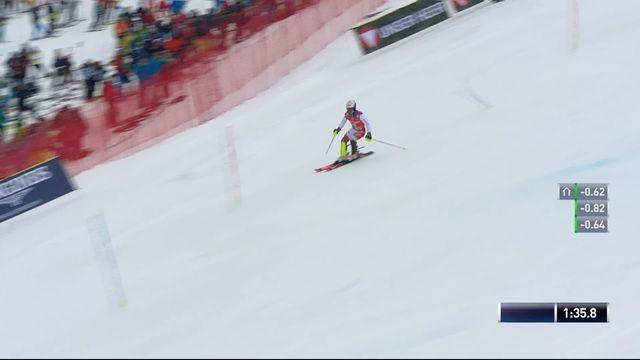 Saalbach (AUT), Slalom Messieurs, 2ème manche : Loïc Meillard (SUI) [RTS]