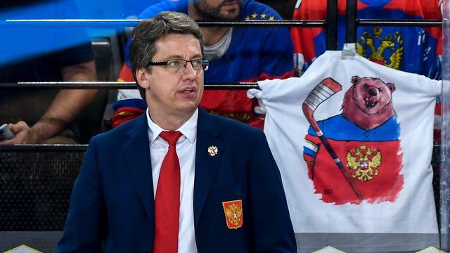 Haris Vitolins était l'entraîneur-assistant de la Russie de 2013 à 2018. [Urs Lindt - Freshfocus]