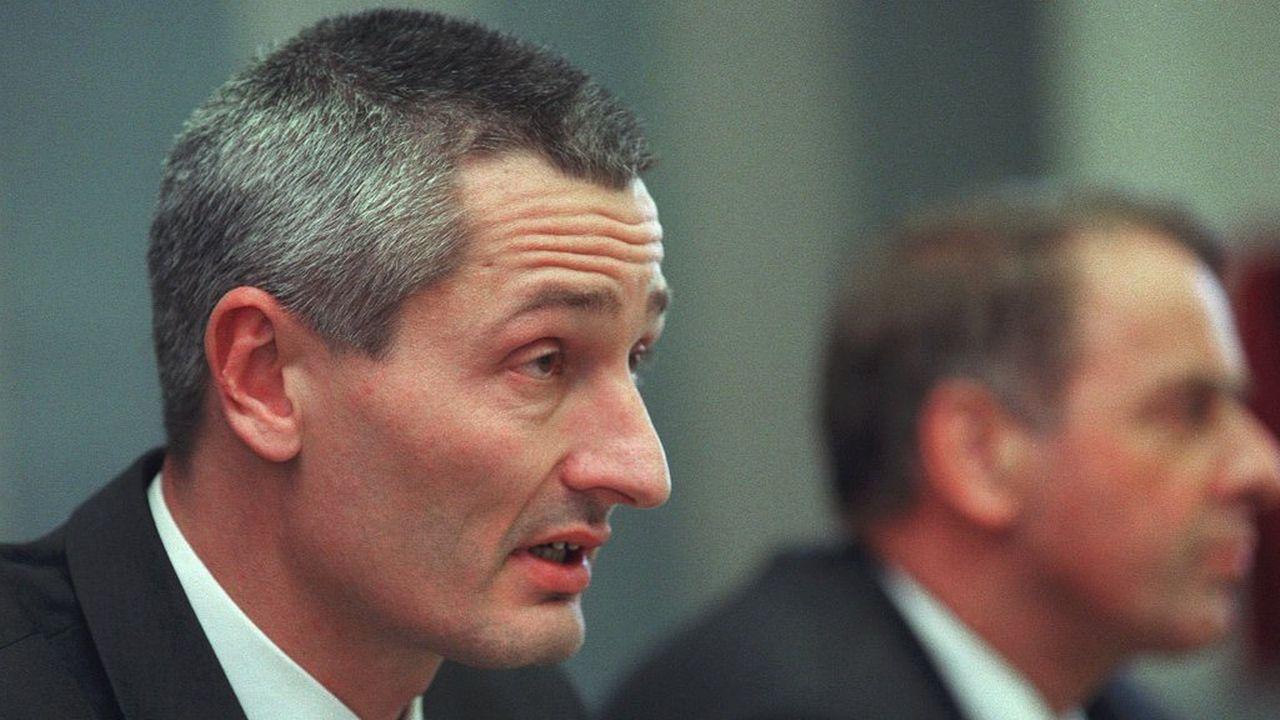 Jacques Pitteloud, photographié ici en mars 2000. [Martin Schweizer - Keystone]