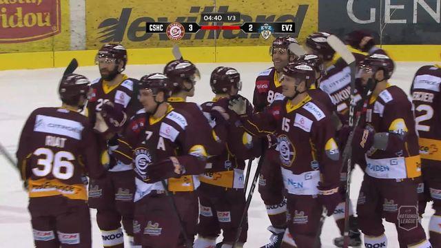 Hockey: 29e journée, Genève - Zoug (3-2ap) [RTS]