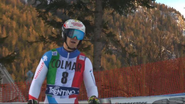 Madonna di Campiglio (ITA), slalom messieurs, 1re manche: Loïc Meillard (SUI) [RTS]