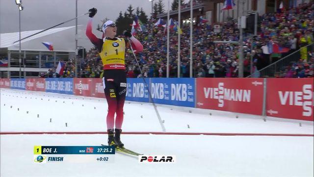 Nove Mesto (TCH), 15 km mass start: victoire de Johannes Boe (NOR), Weger (SUI) termine 12e [RTS]