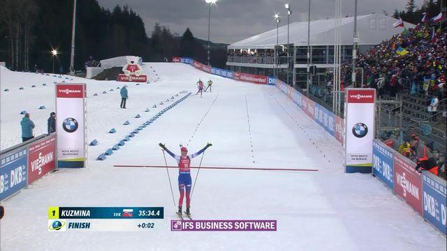 Nove Mesto (TCH), 12.5 km mass start: victoire de Anastasiya Kuzmina (SVK) [RTS]
