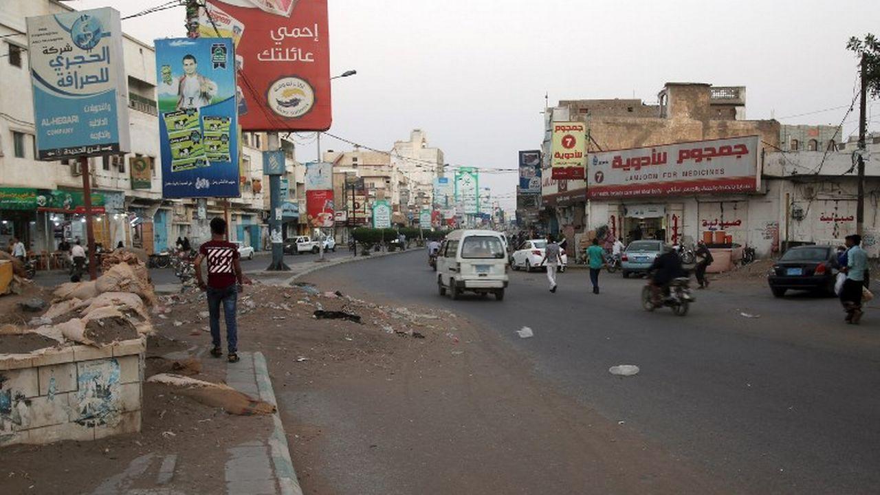 Une rue de Hodeida le 17 décembre 2018. [AFP]