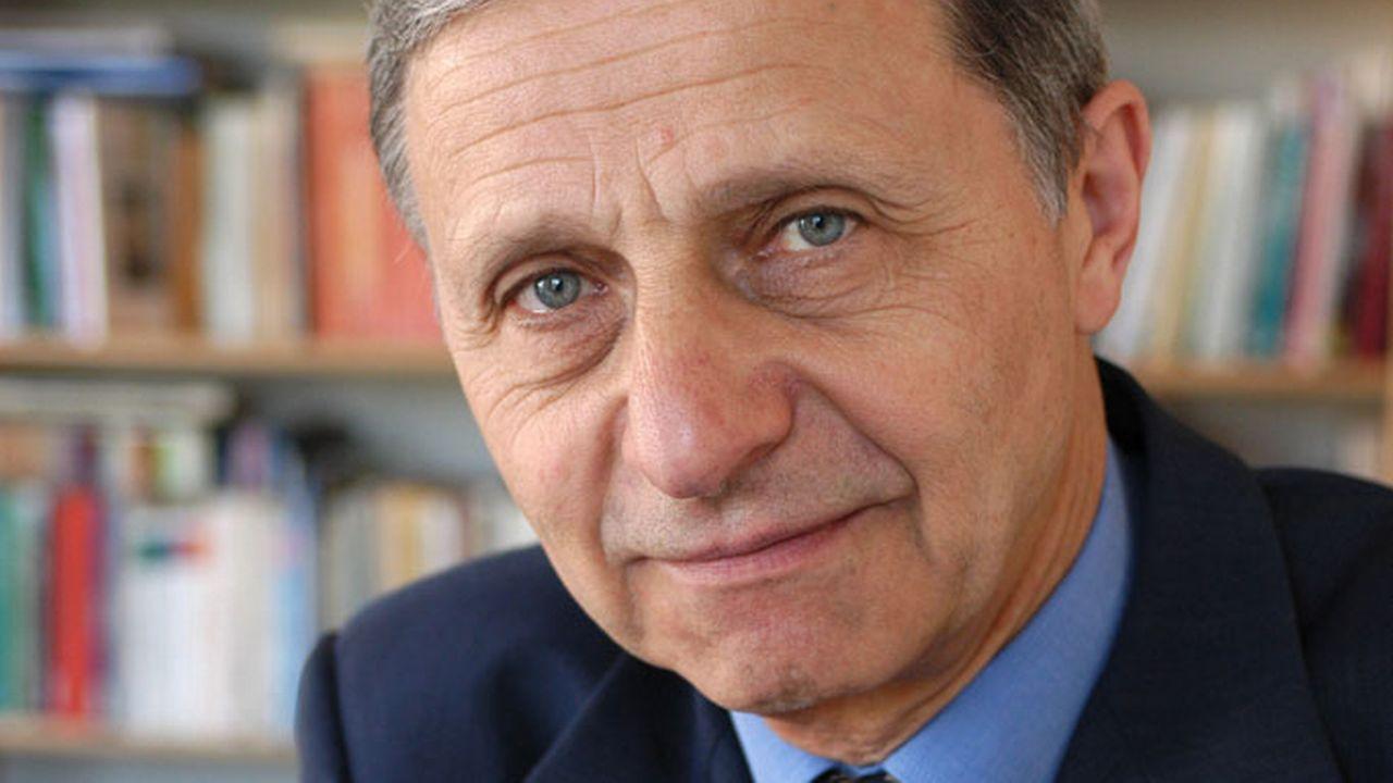 André Kaspi, historien et spécialiste des Etats-Unis. [Ulf Andersen - Aurimages - AFP]