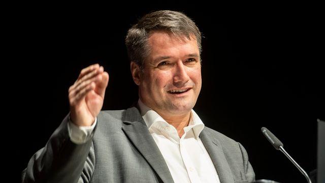Le président du Parti socialiste suisse Christian Levrat. [Ennio Leanza - Keystone]