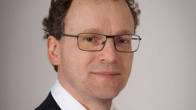 Cédric Tille, professeur d'économie à l'Institut de hautes études internationales et du développement à Genève. [EQ]