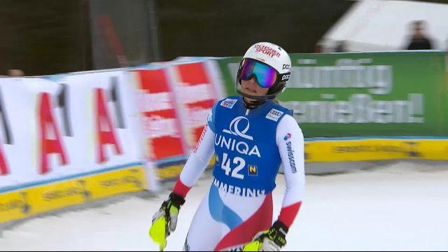 Semmering (AUT), slalom dames: Charlotte Chable (SUI) [RTS]