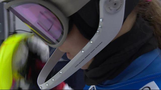 Semmering (AUT), slalom dames: Aline Danioth (SUI) [RTS]