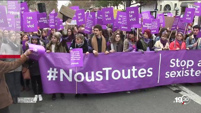 Revue 2018: une année de revendication pour les droits des femmes. [RTS]