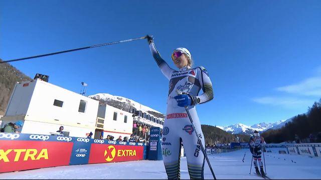 Val Mustair (SUI), finale sprint dames: Stina Nilsson (SUE) remporte le sprint [RTS]