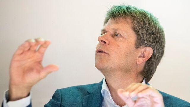 Le président des Vert'libéraux Jürg Grossen. [Urs Flueeler - Keystone]