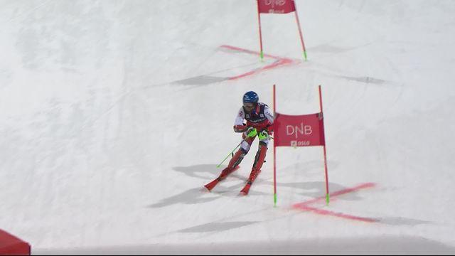 Oslo (NOR), slalom parallèles messieurs: victoire de Marco Schwarz (AUT) devant Dave Ryding (GBR) [RTS]