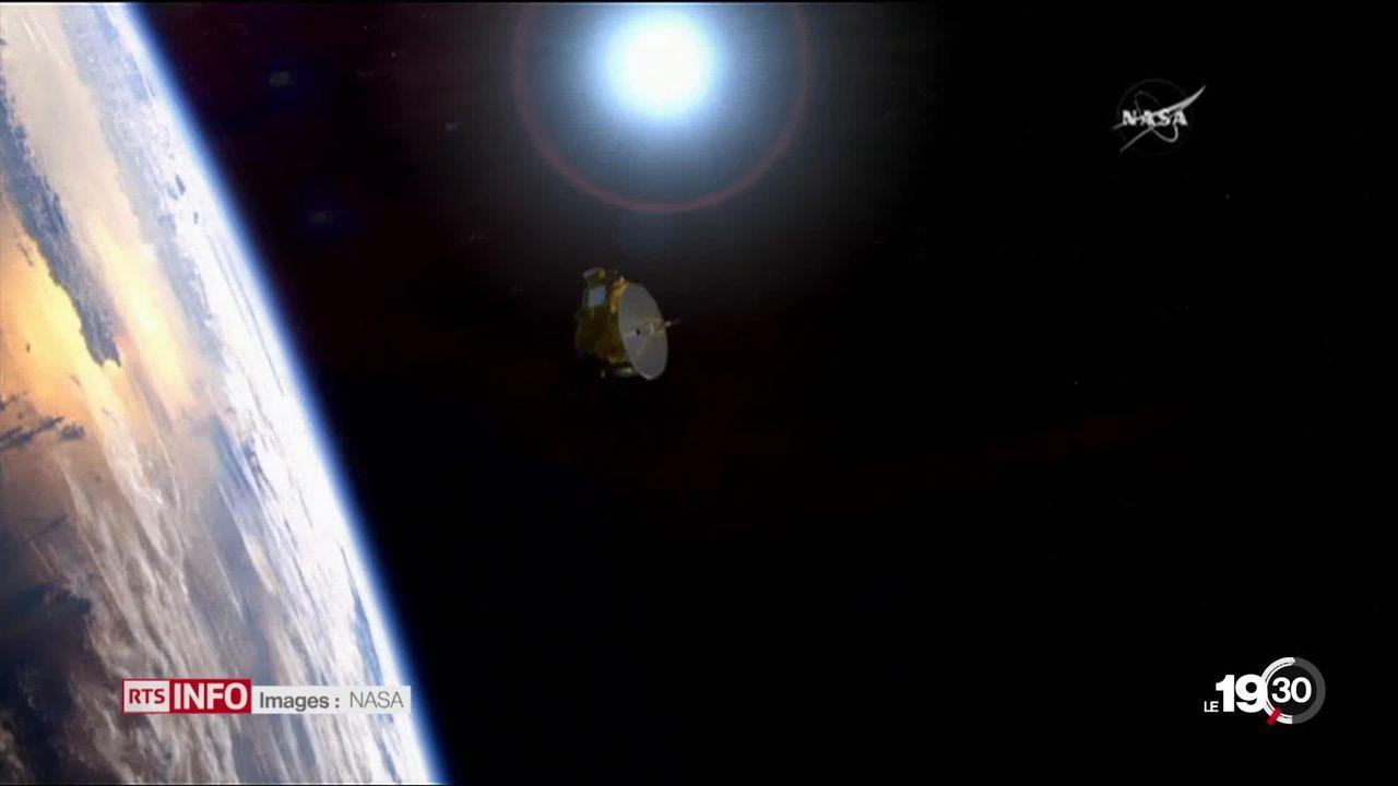 La sonde New Horizons de la Nasa a survolé l'objet céleste le plus éloigné de la terre. [RTS]