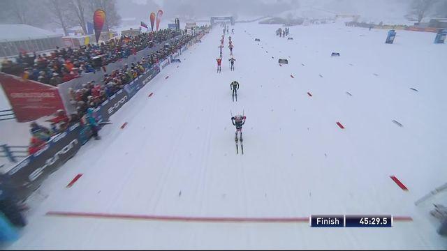 Oberstdorf (GER), 15km messieurs départ en ligne: Iversen (NOR) remporte la course, Klee (SUI) termine 12e [RTS]