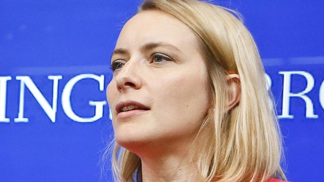 Celia Belin, chercheuse au Centre sur les Etats-Unis et l'Europe de la Brookings Institution à Washington. [DR]