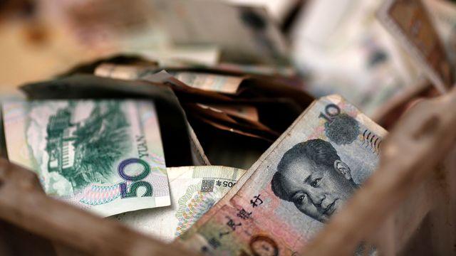 Des billets de banque chinois. [Kim Kyung-Hoon - Reuters]