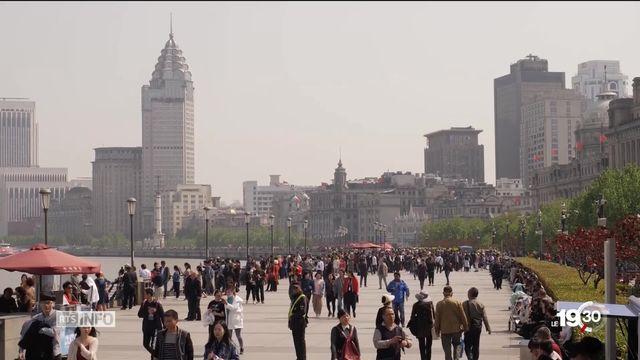 Seuls 15 millions de bébés sont nés en Chine l'an dernier. C'est le nombre le plus bas depuis l'an 2000. [RTS]