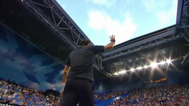Hopman Cup, Suisse – Grèce 7-6 7-6: Federer bat Tsitsipas (GRE) en deux manches et envoie la Suisse en finale (edited) [RTS]