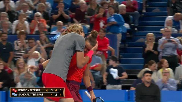 Hopman Cup, Suisse – Grèce 3-4 4-2 3-4: défaite en trois manches pour la paire Federer-Bencic [RTS]
