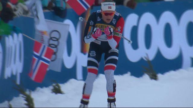 Oberstdorf (GER), 10km poursuite dames: victoire aisée pour Oestberg (NOR) [RTS]