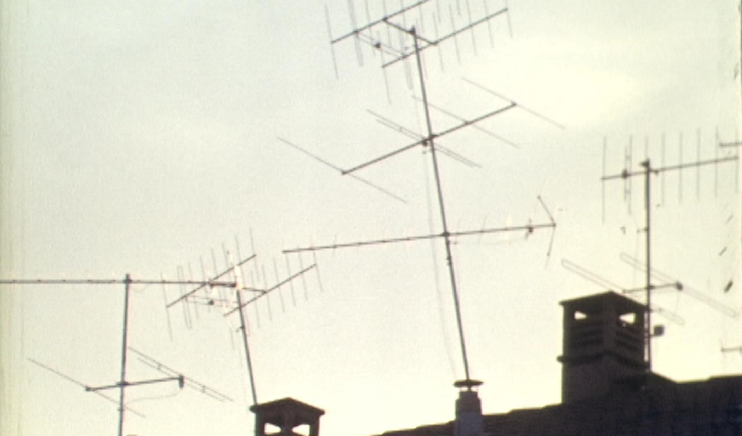 Paysage d'antennes