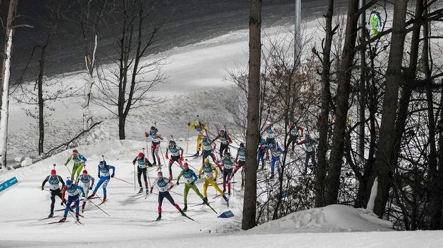 Biathlon, coupe du monde, massstart messieurs, Tyumen [Felipe Dana - Keystone]