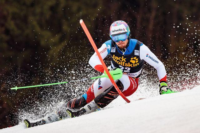 Ski alpin, coupe du monde, géant messieurs, Kranjska Gora [JOHANN GRODER - Keystone]