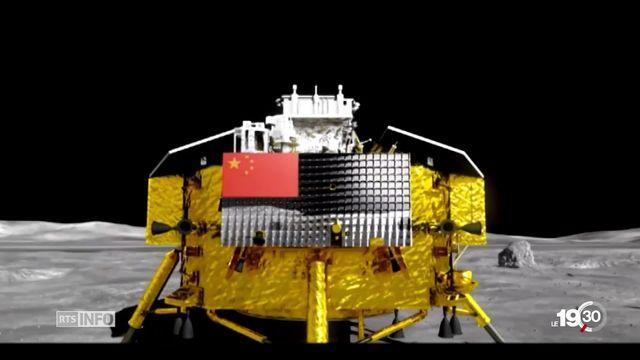 La Chine réussit à poser un engin sur la face cachée de la Lune [RTS]