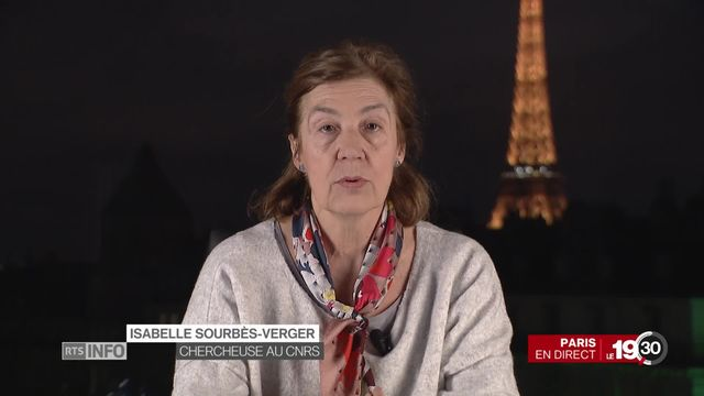 """Isabelle Sourbes-Verger, spécialiste en géopolitique de l'espace """"La Chine n'a pas des ambitions aussi démesurées que les USA."""" [RTS]"""