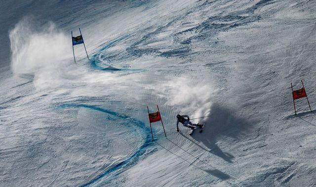 Coupe du monde Slalom Géant Dames 2ème manche [CHRISTIAN BRUNA - Keystone]