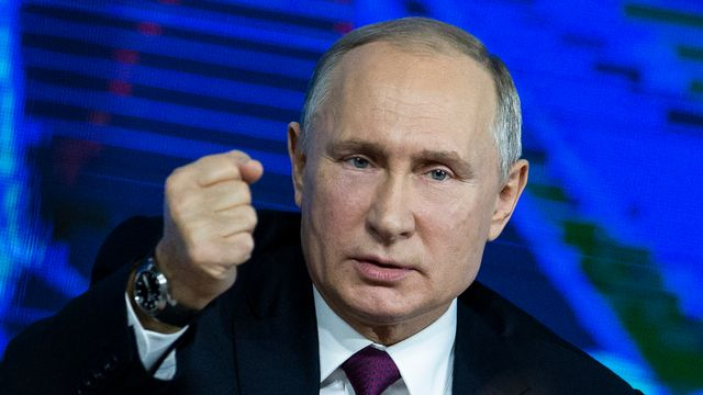 Vladimir Poutine. [Alexander Zemlianichenko - AP Photo/Keystone]