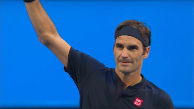 Hopman Cup, finale, Suisse – Allemagne 6-4 6-2: victoire en deux manches de Roger Federer qui apporte un premier point à la Suisse [RTS]