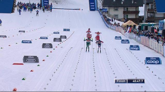 Val di Fiemme (ITA), 15km messieurs départ en ligne: Klaebo (NOR) s'impose. Cologna (SUI) termine à la 24ème place [RTS]