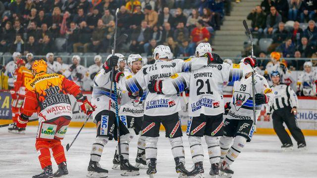 Fribourg réalise un week-end presque plein, avec 5 points engrangés sur 6. [Estelle Vagne - Keystone]