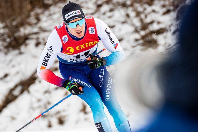 Dario Cologna ne s'attaquera pas à la terrible montée de l'Alpe Cermis dimanche. [Federico Modica - Freshfocus]