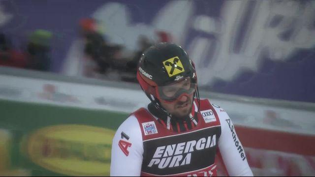 Zagreb (CRO), slalom messieurs: Marcel Hirscher (AUT) [RTS]
