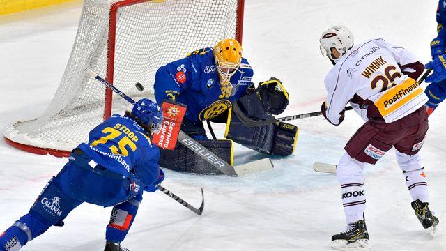 Six points sur six pour Genève ce week-end. [Juergen Staiger - Keystone]