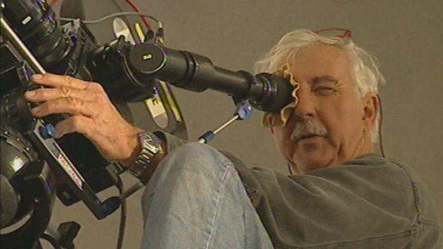 Le chef opérateur Pio Corrati en 1997. [RTS]