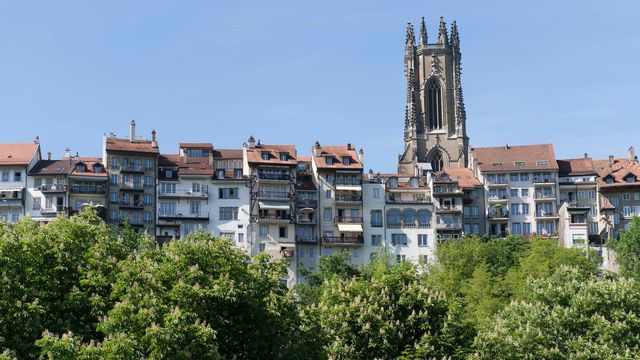 logement canton de Fribourg. [Thomas Delley - Keystone]